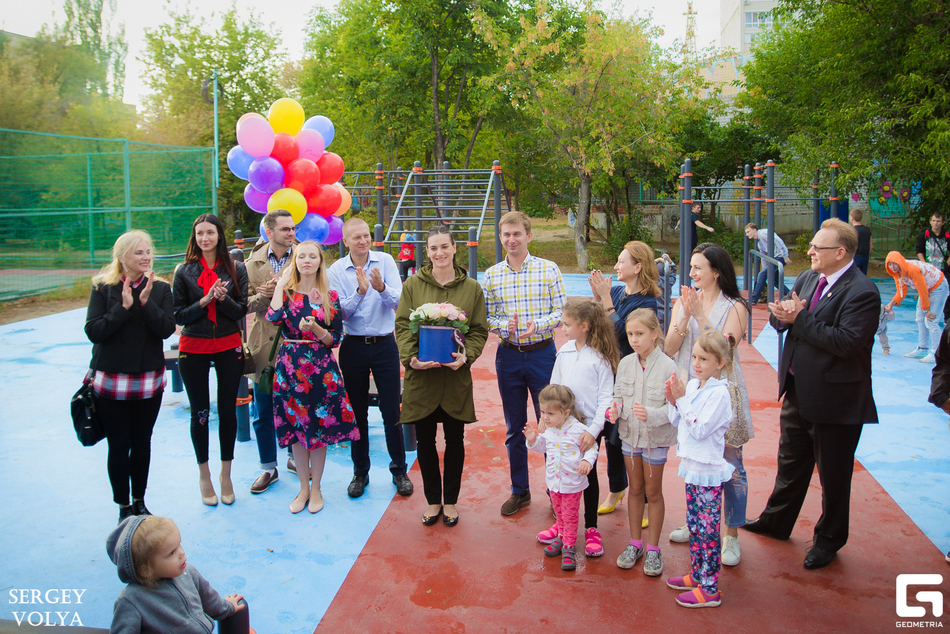 Rotari Club and Yelena Isinbaeva Charity foundation opened an sports ground for disabled people