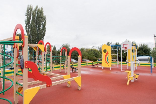NEW MULTIFUNCTIONAL SPORTS GROUND IN SERAFIMOVICH