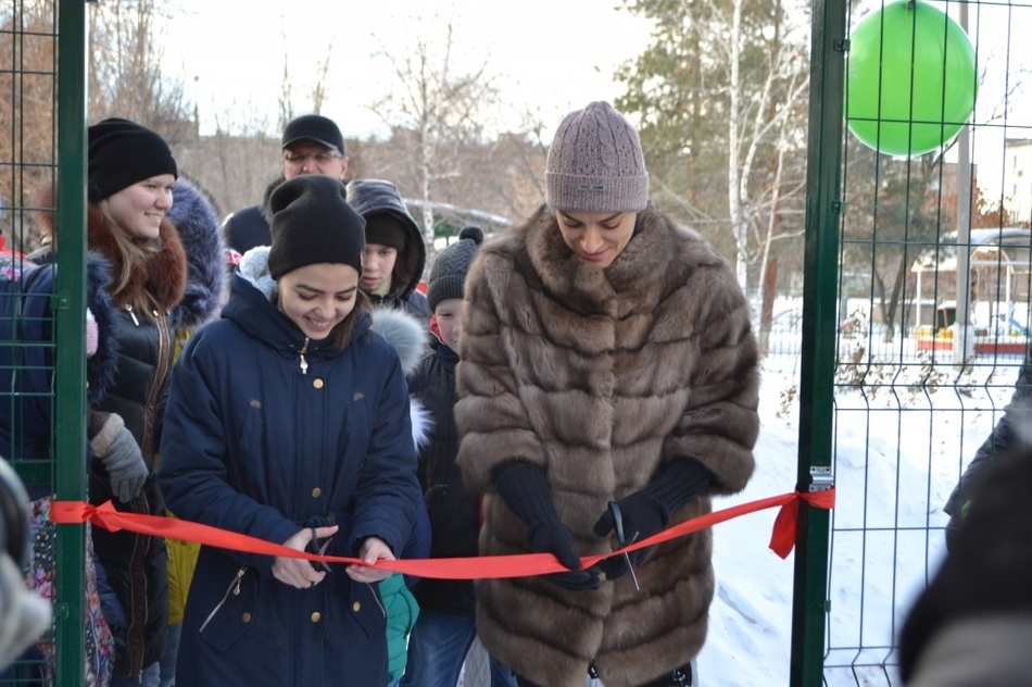 "NEW SPORTS GROUND OPENED IN ""NADEZHDA"" CENTER (VOLZHSKY)"