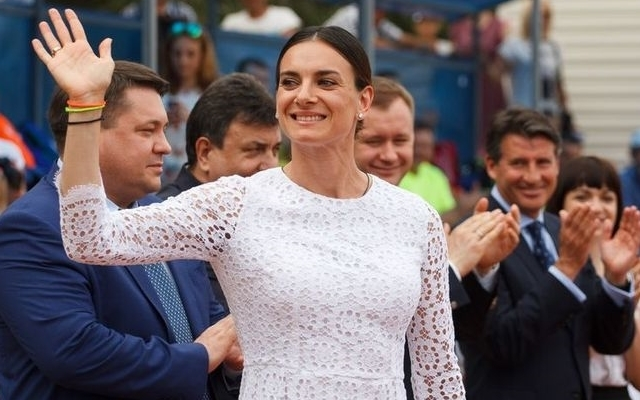 Athletics Championship for prizes of Yelena Isinbayeva